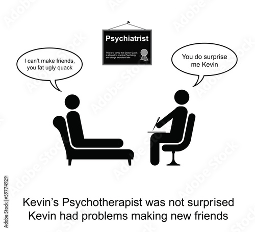 Kevin and making new friends cartoon
