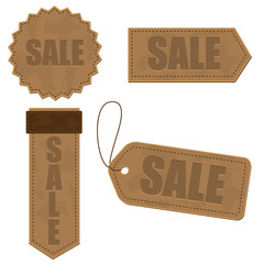 Leather Sale Tag