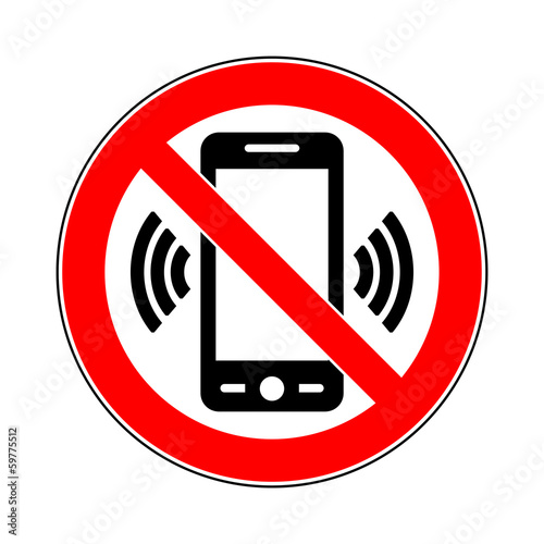 sign turn off all mobile phones