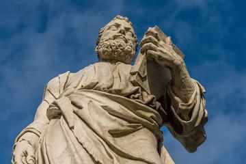 Roma, ponte S.Angelo, statua di San Pietro