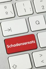 Schadensersatz. Tastatur