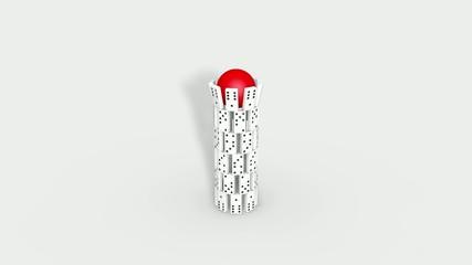 Dominoturm