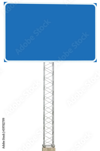 Motorway Road Junction Driving Direction Info Sign Signboard