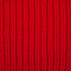 Wool knitted with pattern textured