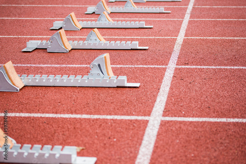 Athletics Starting Blocks