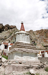 Ancient stupa in the Hemis Monastery complex, Leh