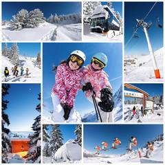 ski en station