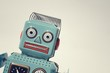Vintage tin toy robot - 59787119