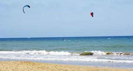 Kitesurf en Castelldefels, Barcelona