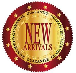 New arrivals sign - VECTOR