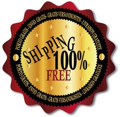 free shipping sign , porto , versandkosten, livraiso