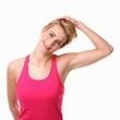 Dehnung der Nackenmuskulatur