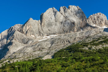 National Park Dolomites - Italian mountains