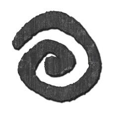 Spiral. Stone pattern.