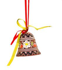 Hand crafted ceramic decoration.