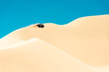 Buggy in the Dumont dunes