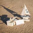 segelurlaub objekte dekoration muscheln sand
