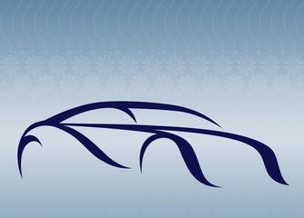 Güzel bir otomobil logosu