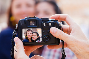 Taking a Photo of Women