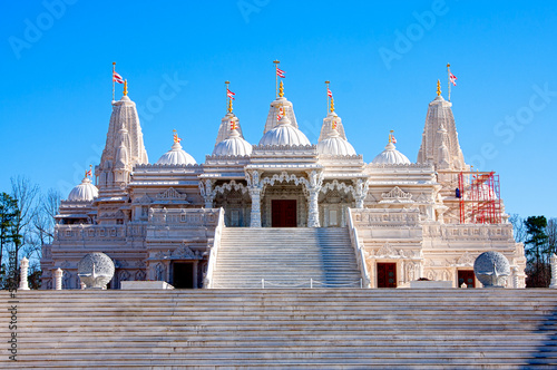 Hindu Mandir Temple made of Marble