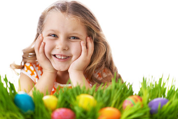 Easter child