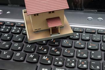 家とキーボード