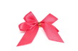 pink ribbon on white paper