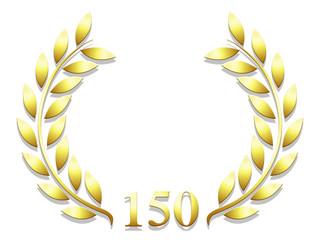 Lauriers anniversaire 150