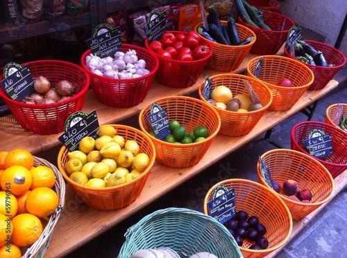 Fruits et legumes de provence