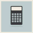 Classic Finance Accounting Calculator on Retro Background