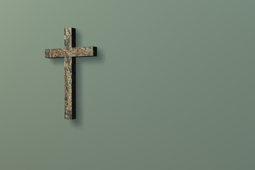 Wall with Cross