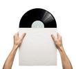 Leinwandbild Motiv Vinyl record