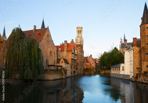 view of old town, Bruges