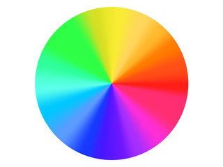 Palette con varietà di colori sfumati