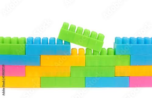 papier peint jouets en plastique l gos vert. Black Bedroom Furniture Sets. Home Design Ideas