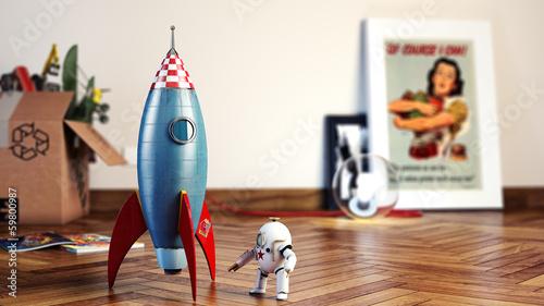 Vintage Rocket dof - 59800987