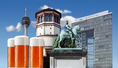 Wahrzeichen Düsseldorfs