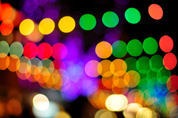 Bokeh of light. Abstract background.