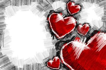 Heart pancil