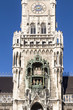 Glockenspiel on the Munich city hall