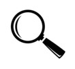 vector magnifying glass - 59803186
