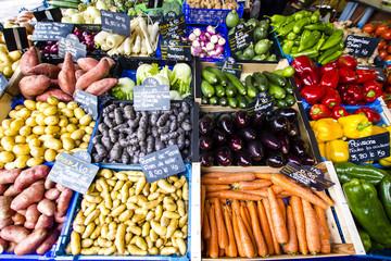 Fresh vegetable produce