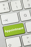 Appointment. Keyboard