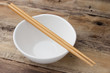 Ceramic white bowl