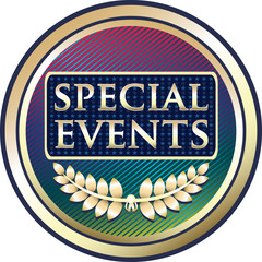 Special Events Label