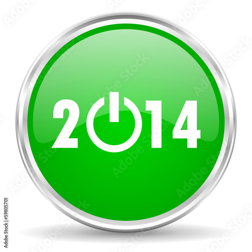 new years 2014 icon