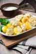 Kartoffeln und Blumenkohl