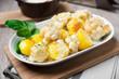 Gebackener Blumenkohl mit Kartoffeln