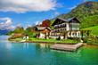 beautiful lakes of Austria. st.Wolfgang