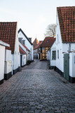 Old Street in Ribe, Denmark